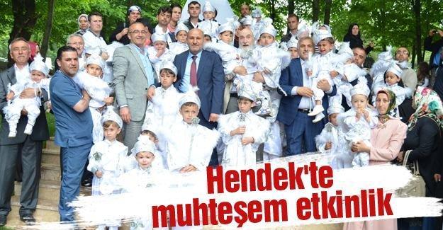 Selman Dede etkinliklerin 130 çocuk erkekliğe ilk adımı attı
