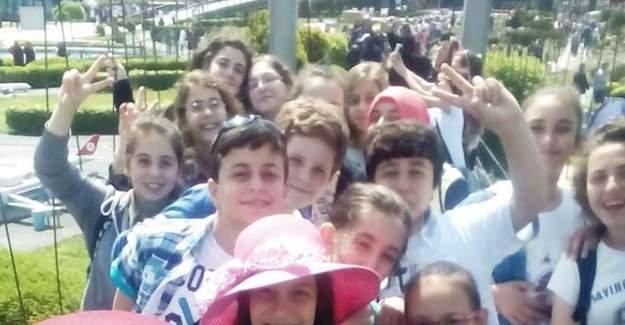 Serdivan Çocuk Akademisi öğrencileri İstanbul'u gezdi
