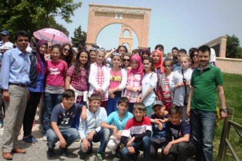 Taraklılı öğrenciler Çanakkale'yi gezdi