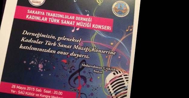 Trabzonlular Derneği'nden TSM konseri
