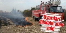 İtfaiye 8 ayda 426 anız yangınına müdahale etti