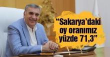 Toçoğlu AK Parti'nin oy oranını açıkladı