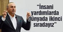 Dışişleri Bakanı Mevlüt Çavuşoğlu öğrencilerle buluştu