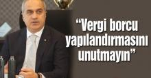 Kösemusul'dan yapılandırma uyarısı