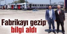 Balkanlıoğlu'ndan TÜVASAŞ'a iade-i ziyaret