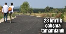 Kayrancık'ta asfalt çalışması
