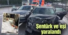 Sakarya İHL eski müdürü Şener Şentürk kaza yaptı