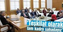 AK Adapazarı'ndan Başkan Toçoğlu'na ziyaret