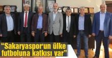 Sakaryaspor Yönetimi'nden Başkan Dişli'ye ziyaret