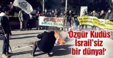 Adalet ve Özgürlükler Platformundan Kudüs tepkisi