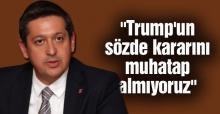 Başkan Korkmaz'dan Kudüs açıklaması