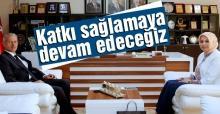 İl Milli Eğitim Müdürü'nden Başkan Dişli'ye ziyaret