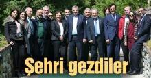 Toçoğlu Sabah Gazetesi yazarlarıyla buluştu