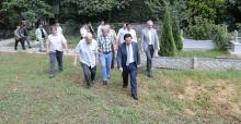Vali Balkanlıoğlu Akyazı ilçesinde temaslarda bulundu