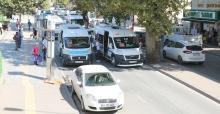 Gar'daki minibüslere yeni durak düzenlemesi