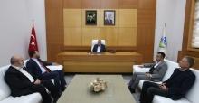Başkan Toçoğlu, Federasyon Başkanı Çintimar'ı ağırladı