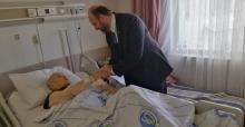 Müftü Açık'tan hastane ziyareti
