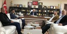 SUBÜ Rektöründen Başkan Dişli'ye ziyaret
