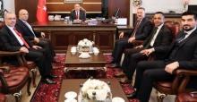 Başkan Işıksu'dan Vali Nayir'e ziyaret