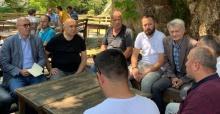 CHP Grup Başkanvekili Özkoç sel bölgesinde