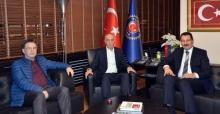 Yavuz'dan Başkan Atalay'a ziyaret