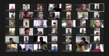 SATSO'dan video konferanslı bayramlaşma töreni