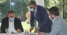 Vali Kaldırım, Keremali projelerini masaya yatırdı