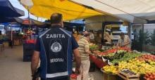 Serdivan'da pazarlar zabıta kontrolünde