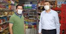 Başkan Akdardağan esnaf ziyaretlerini sürdürüyor