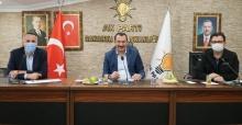 AK Parti'de kongre sonrası ilk ilçe başkanları toplantısı