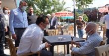 Ali İhsan Yavuz Serdivan'ı karış karış gezdi
