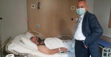 Öğütlü hastaları ziyaret etti