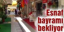 Uzun Çarşı'da Ramazan durgunluğu