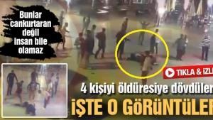 Sakarya'da cankurtaranlar 4 kişi öldüresiye dövdü