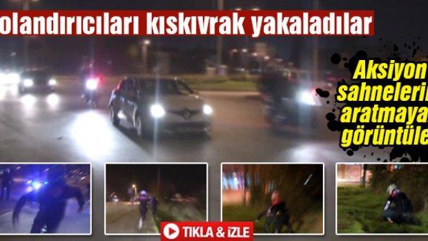 Sakarya'da dolandırıcıları kıskıvrak yakaladılar