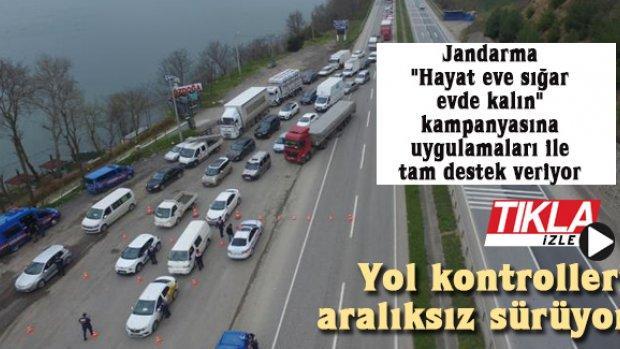 Yol kontrolleri aralıksız sürüyor