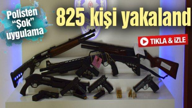 """Sakarya'da polisten """"Şok"""" uygulama"""