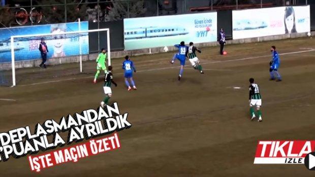İşte Ankara Demirspor - Sakaryaspor maçının geniş özeti