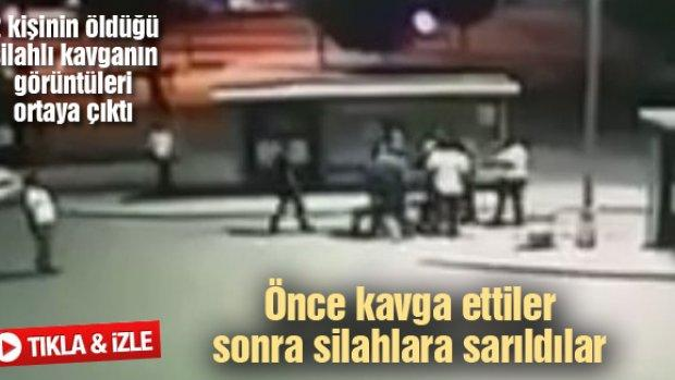 2 kişinin öldüğü silahlı kavganın görüntüleri ortaya çıktı
