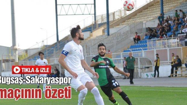Bugsaş-Sakaryaspor maç özeti