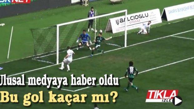 Sakaryaspor maçı ulusal medyaya haber oldu