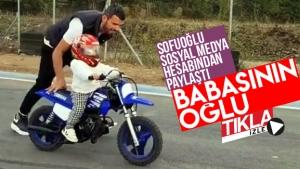 Sofuoğlu sosyal medya hesabından paylaştı