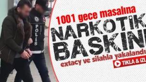 Sakarya'da 1001 adet extacy hap ele geçirildi