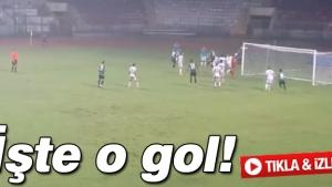Mustafa Akgün'ün kafa golü!