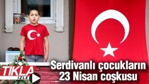 Başkan Alemdar 23 Nisan'ı İstiklal Marşıyla kutladı