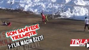Sivas Belediyespor-Sakaryaspor maç özeti
