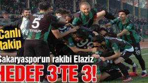Sakaryaspor 4-0'lık galibiyeti taraftarla böyle kutladı