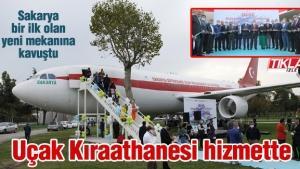 Uçak Kıraathanesi hizmete açıldı